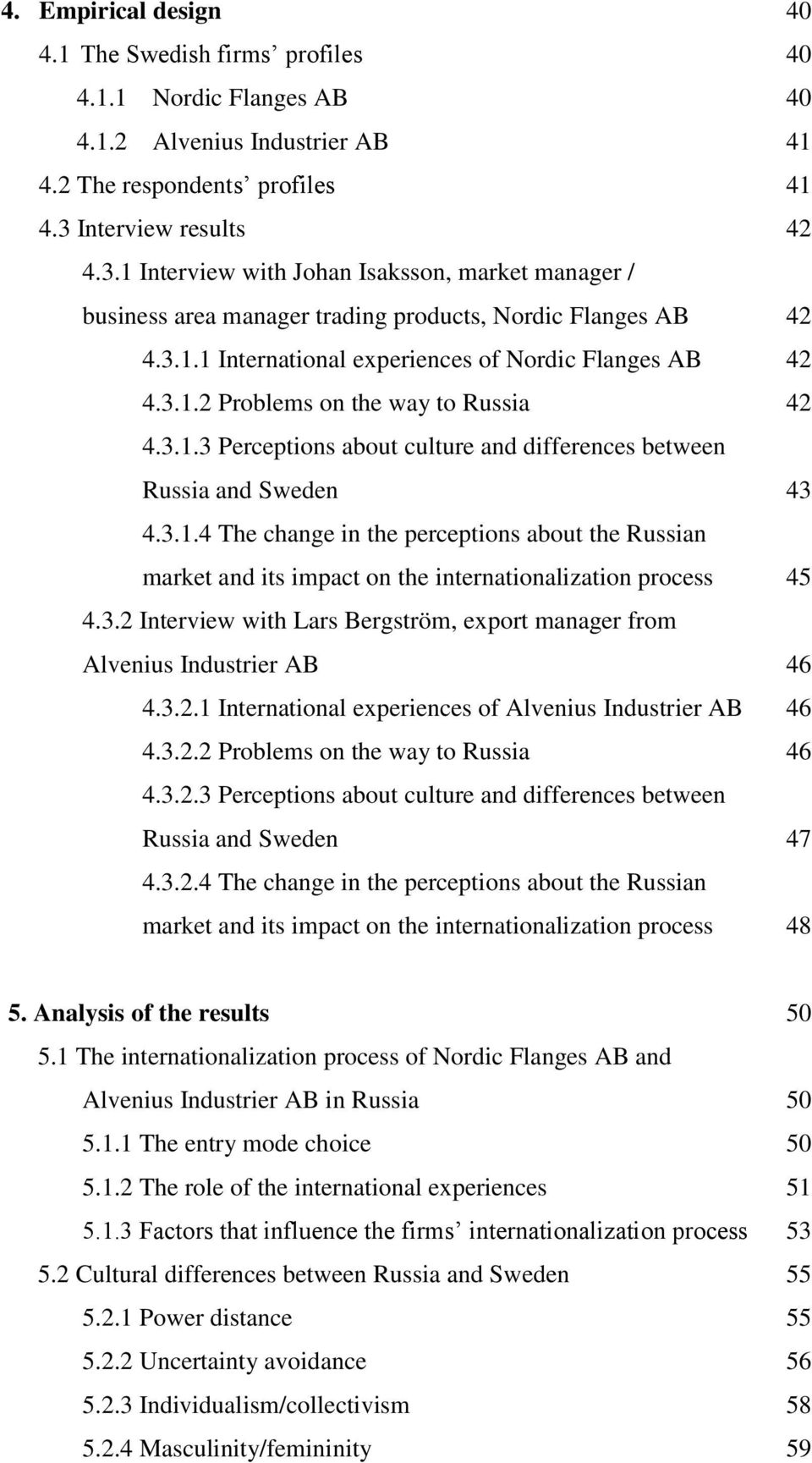 313 Perceptions About Culture And Differences Between Russia Sweden 43 4314