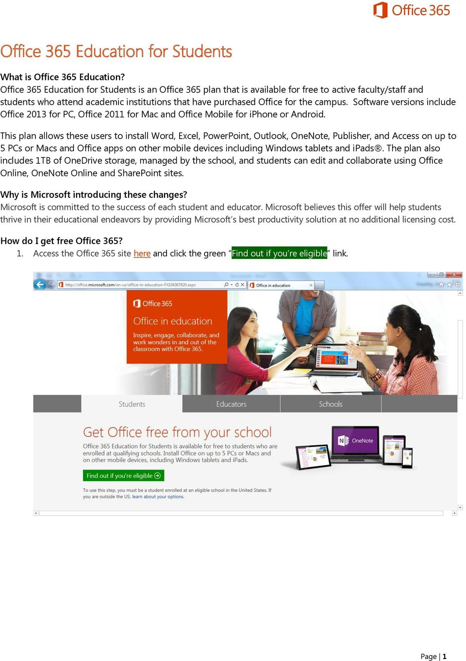 windows 365 free for students