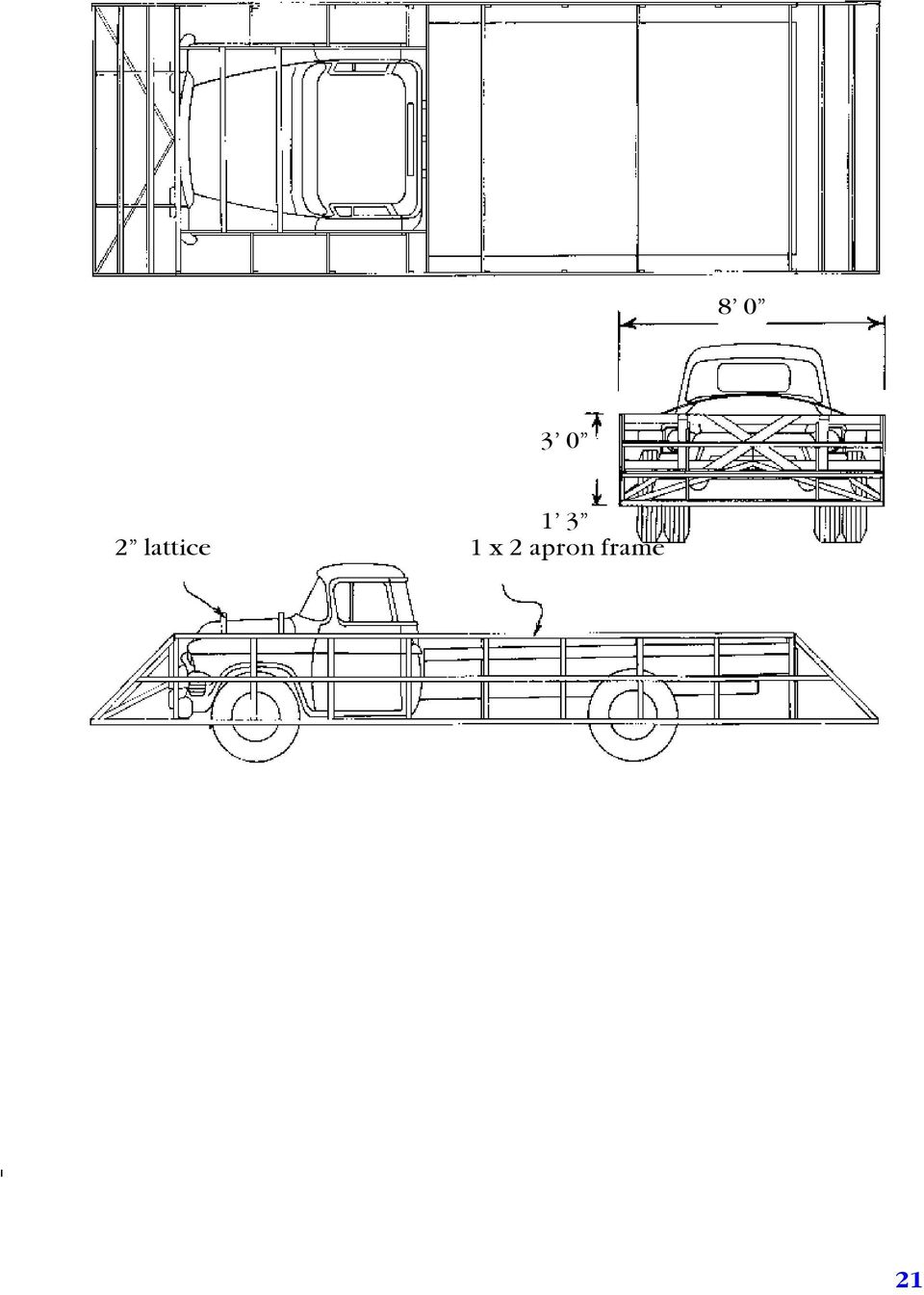 Part I For The Float Builder How To Build A Parade Pdf Gm Headlight Switch Wiring Diagram Http Wwwstoveboltcom Techtips 18 Camouflaging Truck Form Wallboard Cutouts Can Be Used Hide Cab And Also Produce Sweeping Shape At Rear Of Platform