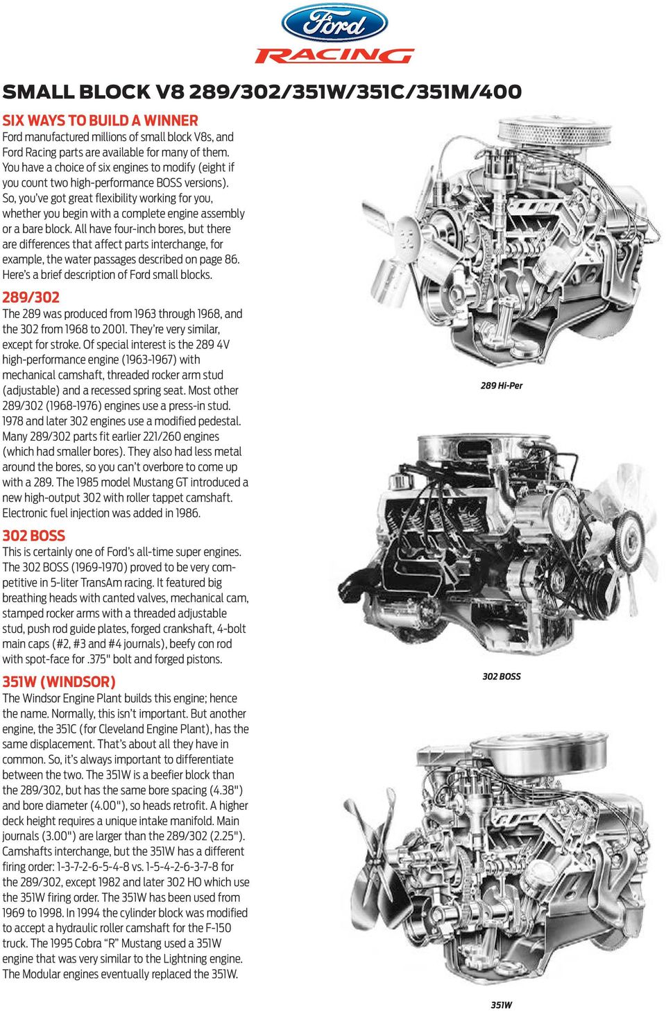 Four Cylinder Engine Section Pdf 302 Valve Timing Diagram So You Ve Got Great Flexibility Working For Whether Begin With A