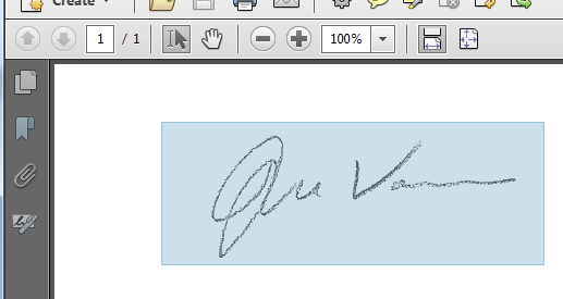 Adobe Acrobat Electronic Signatures Creating A Custom Signature Stamp 1 Sign Your Name On