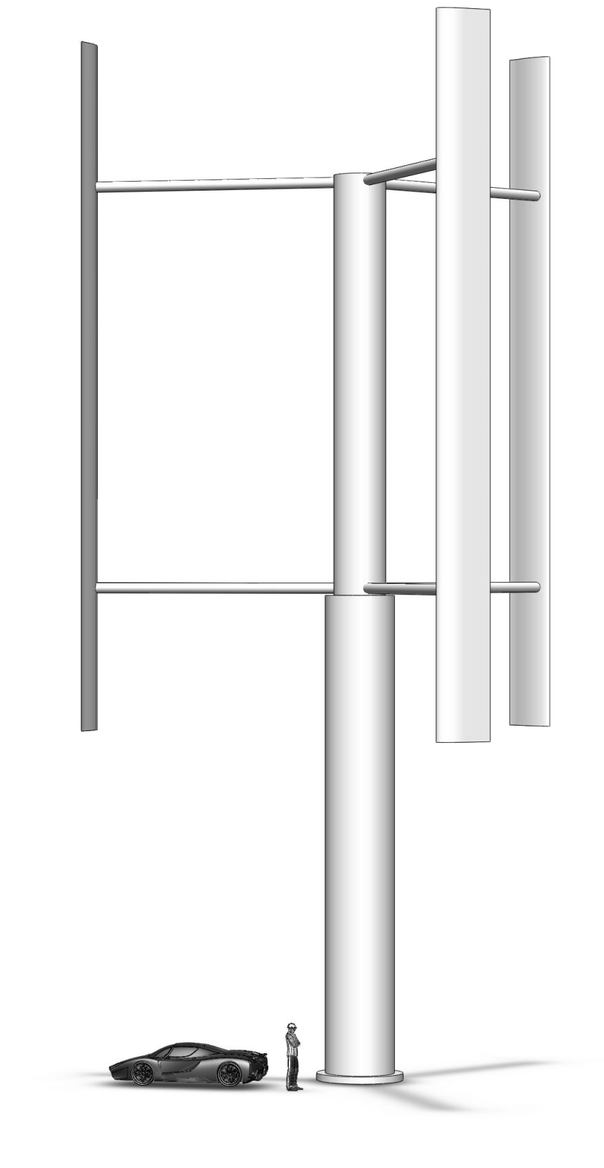 Design of a Vertical Axis Wind Turbine Phase II - PDF