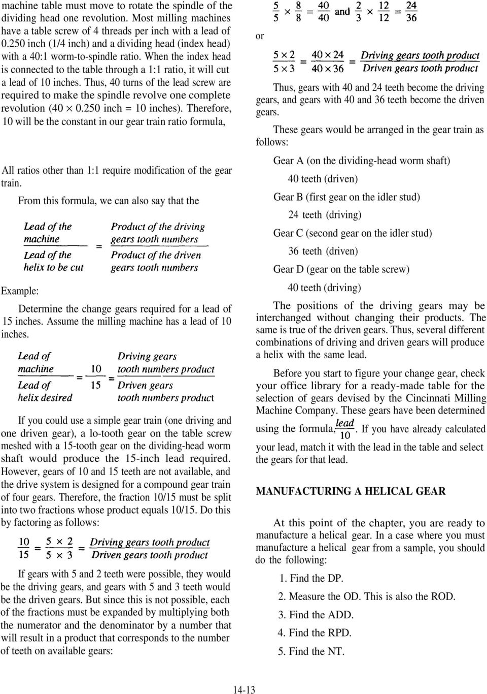 GEARS AND GEAR CUTTING - PDF