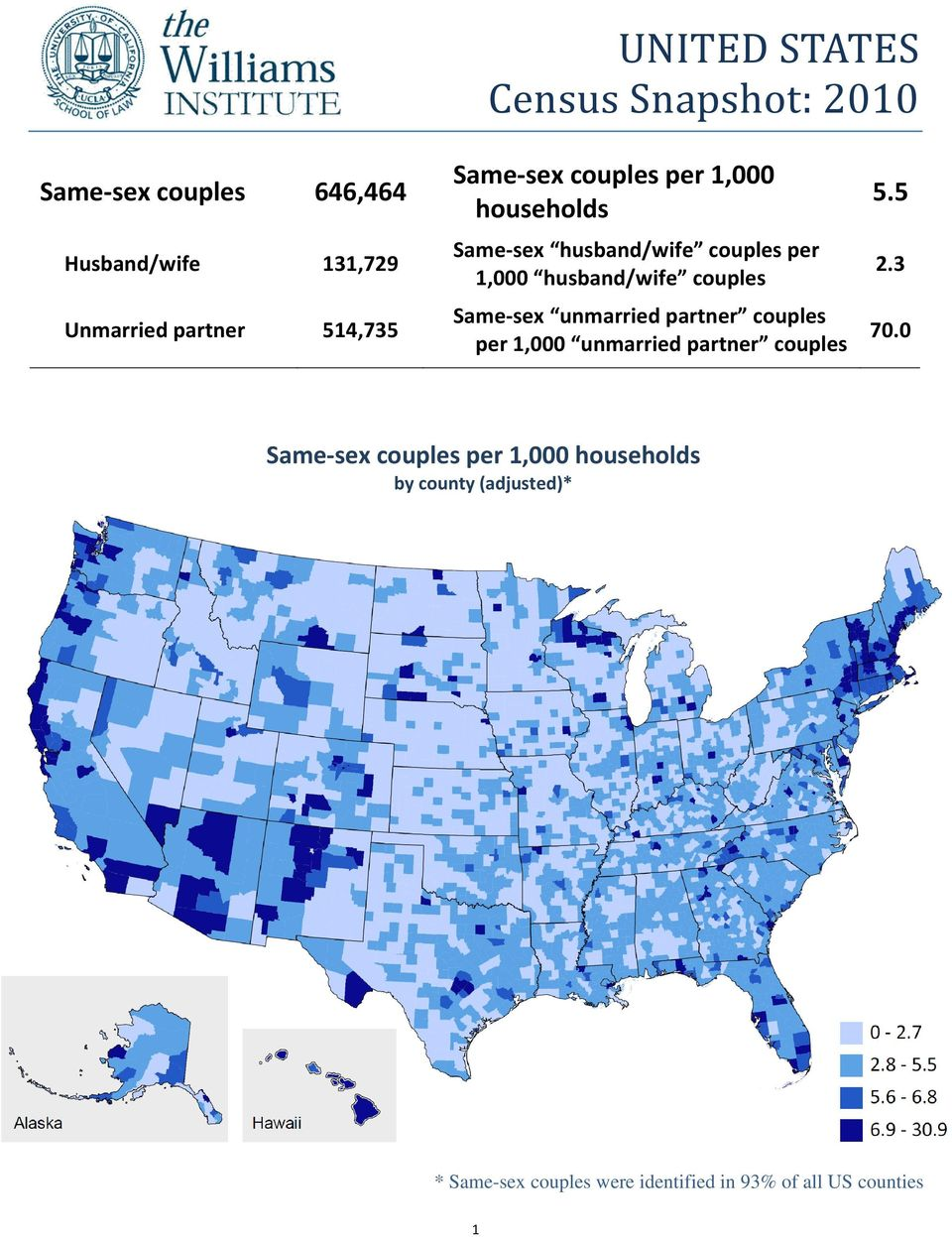 husband/wife unmarried partner per 1,000 unmarried partner 5.5 2.