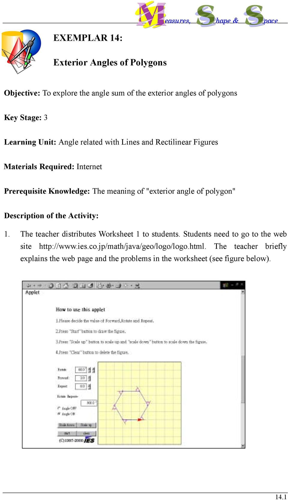 Exterior Angles Of Polygons Pdf