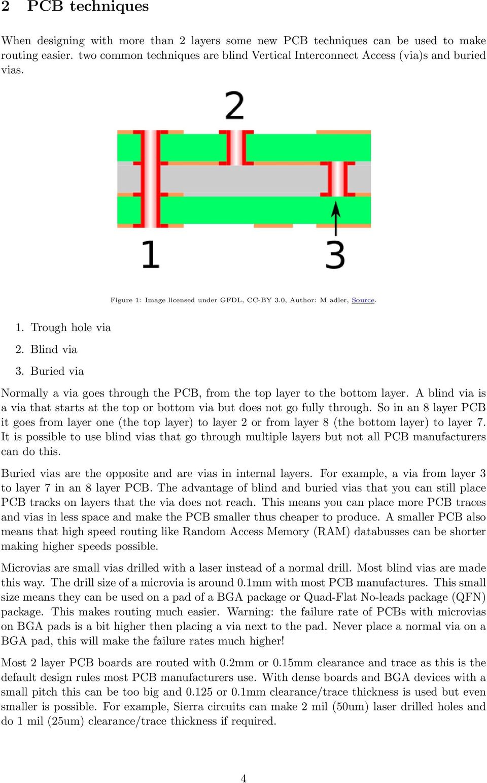 Four or more layer PCB design for beginners using EAGLE - PDF