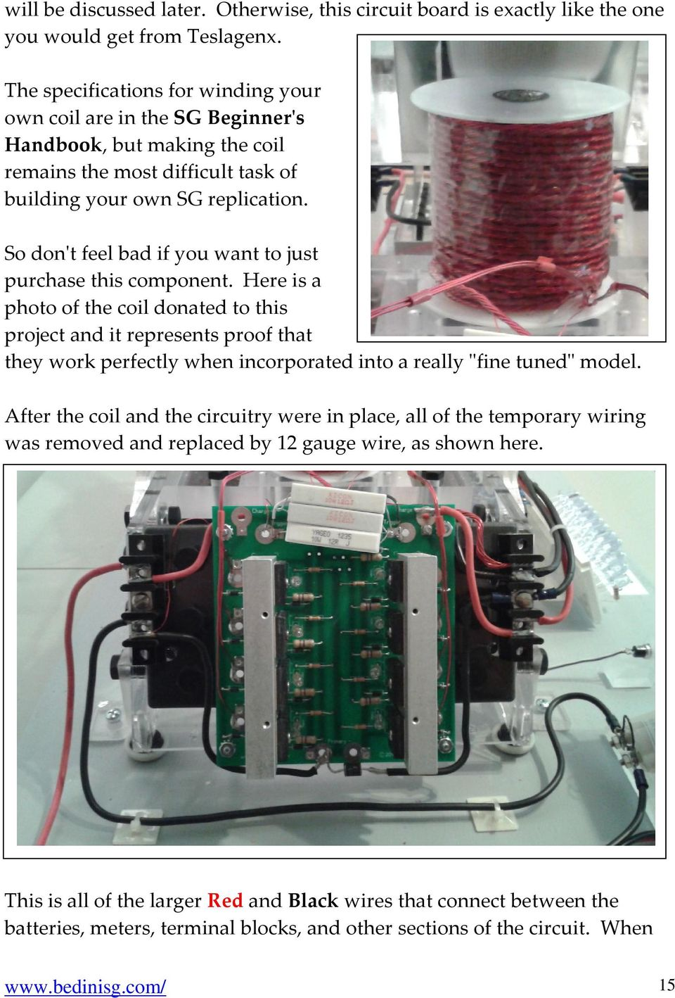 Bedini Sg The Complete Advanced Handbook Written By Peter Homemade 100 Hp Motor Controller For An Electric Car Electronicslab So Dont Feel Bad If You Want To Just Purchase This Component
