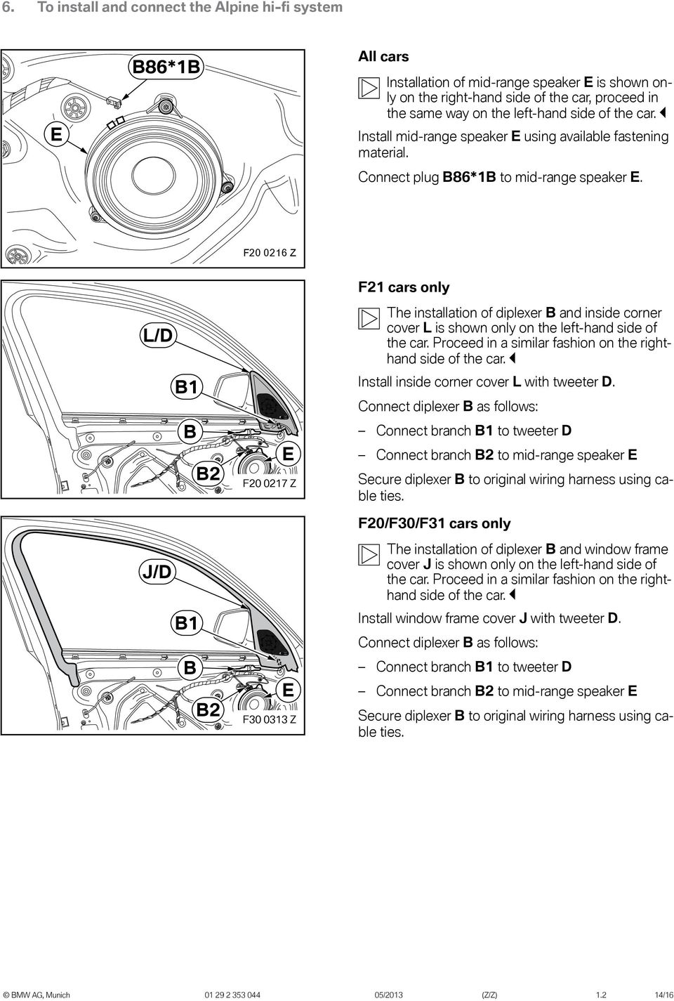 Original BMW Accessories. Installation Instructions. - PDF on