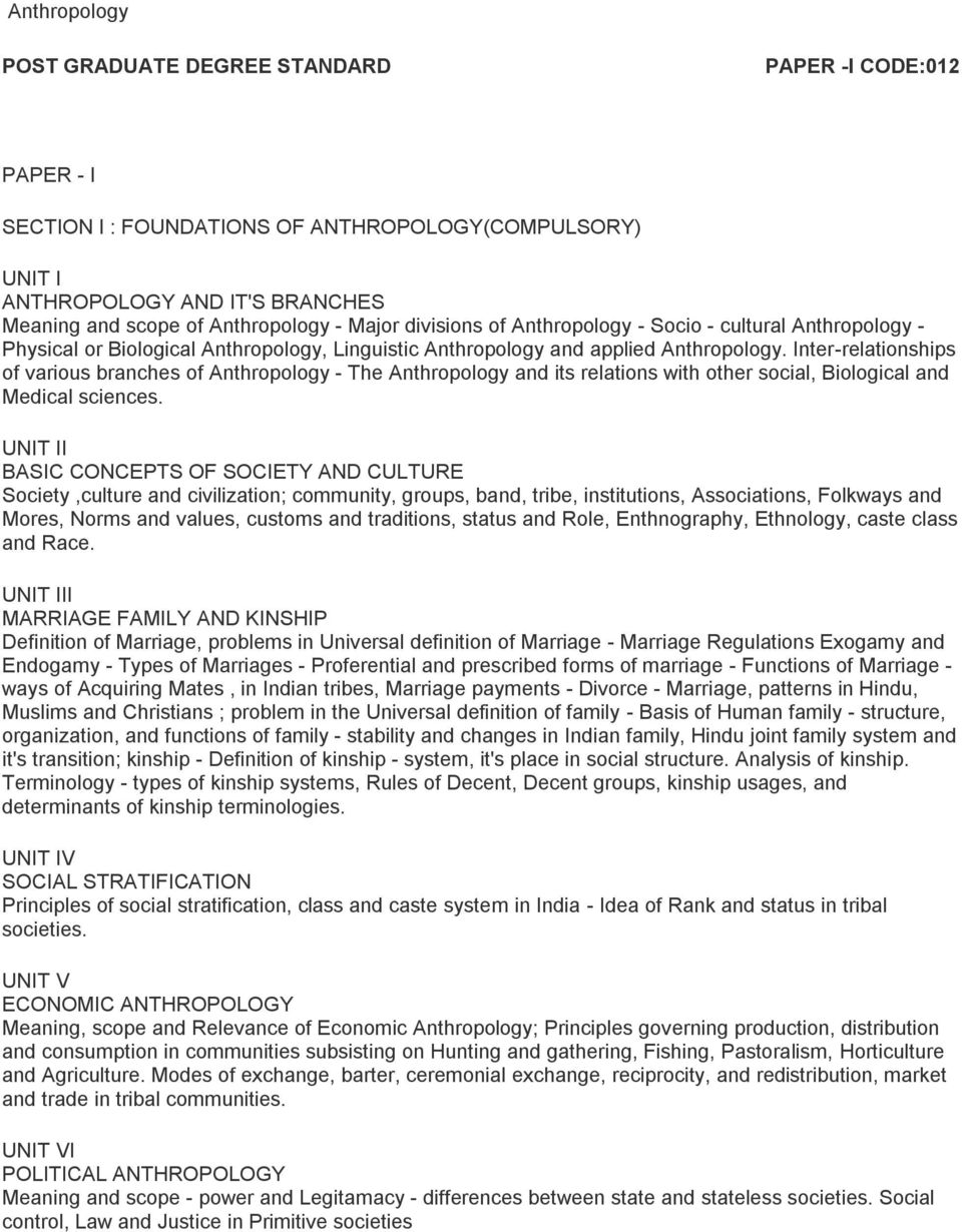 UNIT IV SOCIAL STRATIFICATION Principles of social stratification