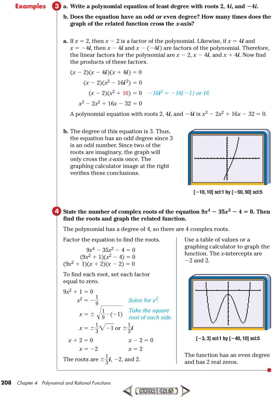 Precalculus Chapter 3 Polynomial And Rational Functions