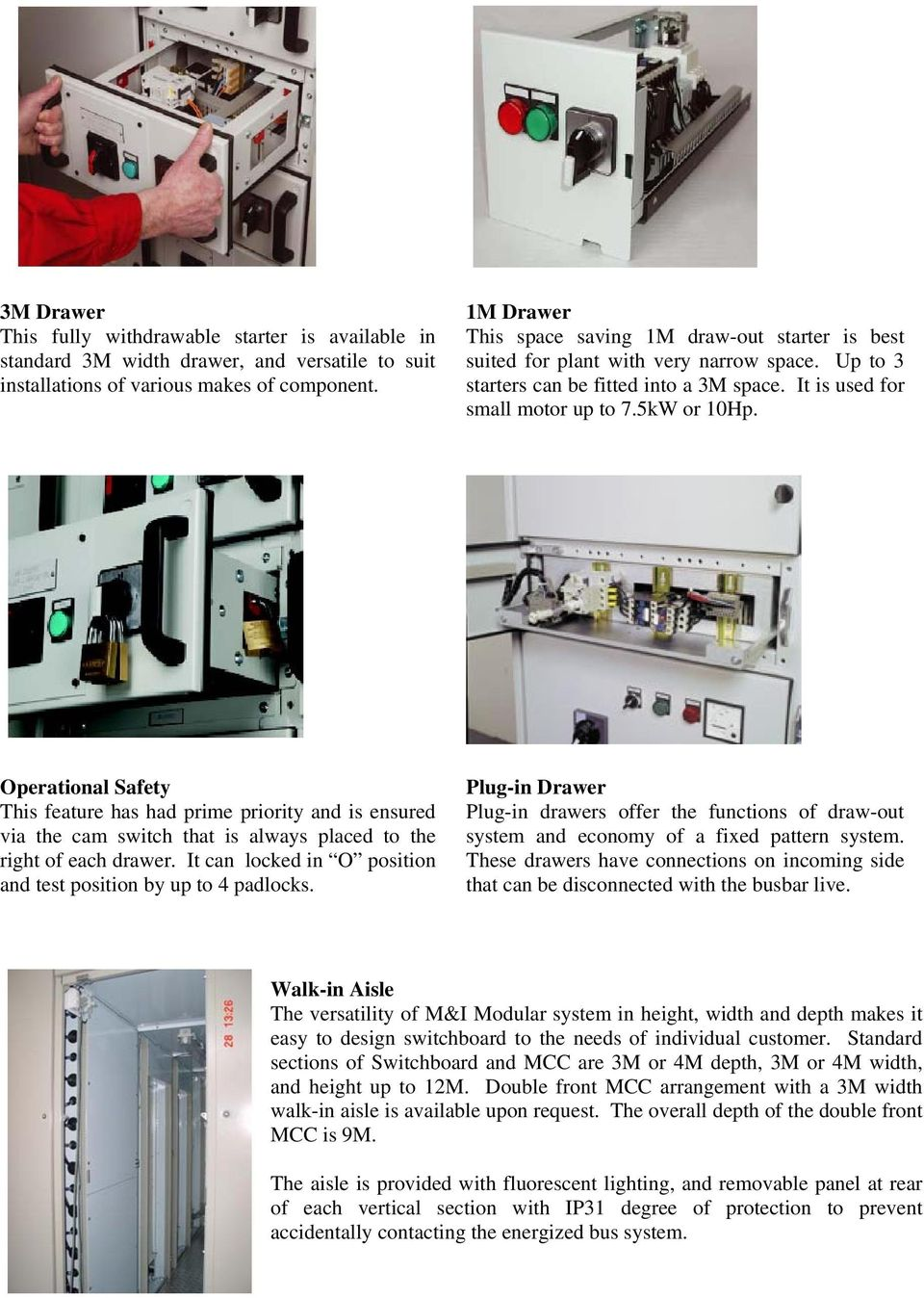 Low Voltage Switchboard Pdf Mcc Panel Diagram Page 3 Pics About Space Operational Safety This Feature Has Had Prime Priority And Is Ensured Via The Cam Switch That