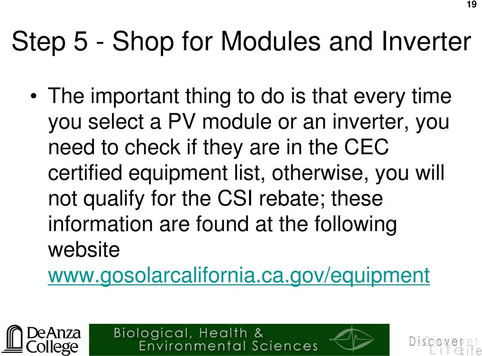 esci61 introduction to photovoltaic technology. pv system design and