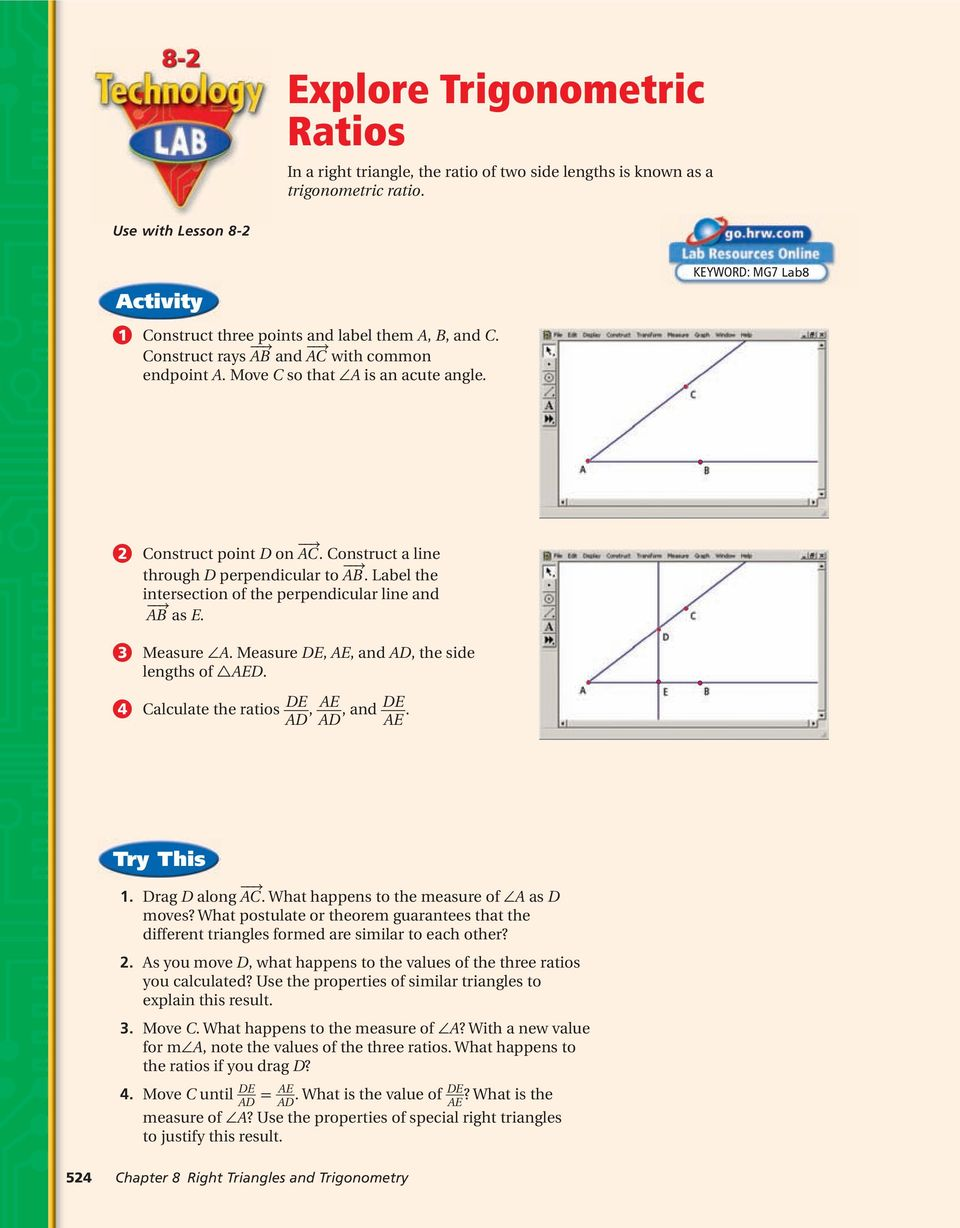 Right triangles and trigonometry pdf 2 construct point d on ac construct a line through d perpendicular to ab fandeluxe Image collections