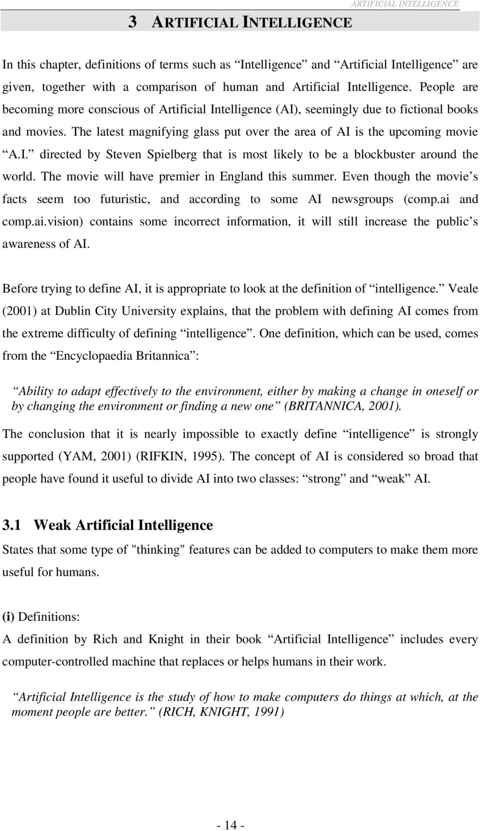 Artificial Intelligence Book Rich Knight