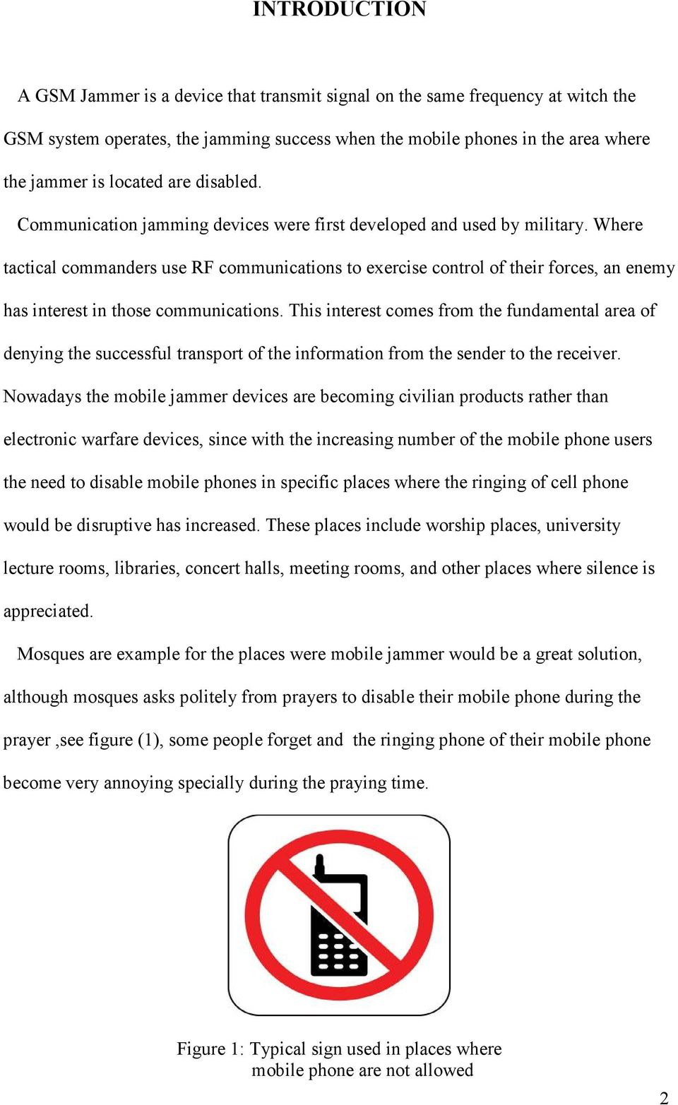 Gsm 900 Mobile Jammer Pdf Cell Phone Circuit Schematic Where Tactical Commanders Use Rf Communications To Exercise Control Of Their Forces An Enemy Has