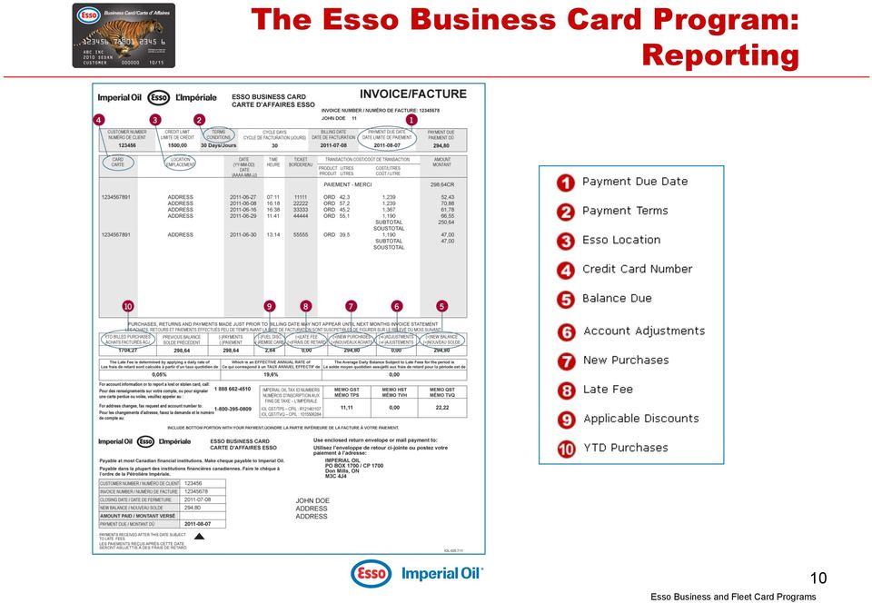 Essocnla fuel program pdf 11 the esso fleet card tigerpro program ideal for businesses that need more thorough reporting the esso fleet card tigerpro program offers driver id product reheart Choice Image