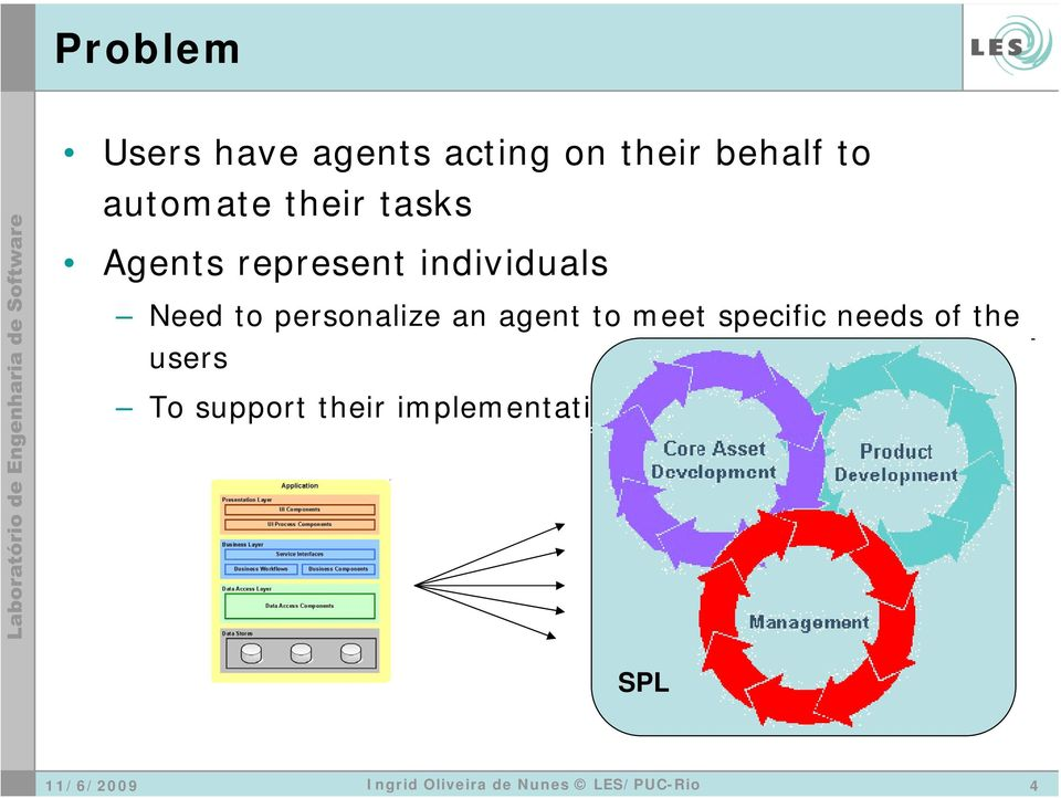 to personalize an agent to meet specific needs of the