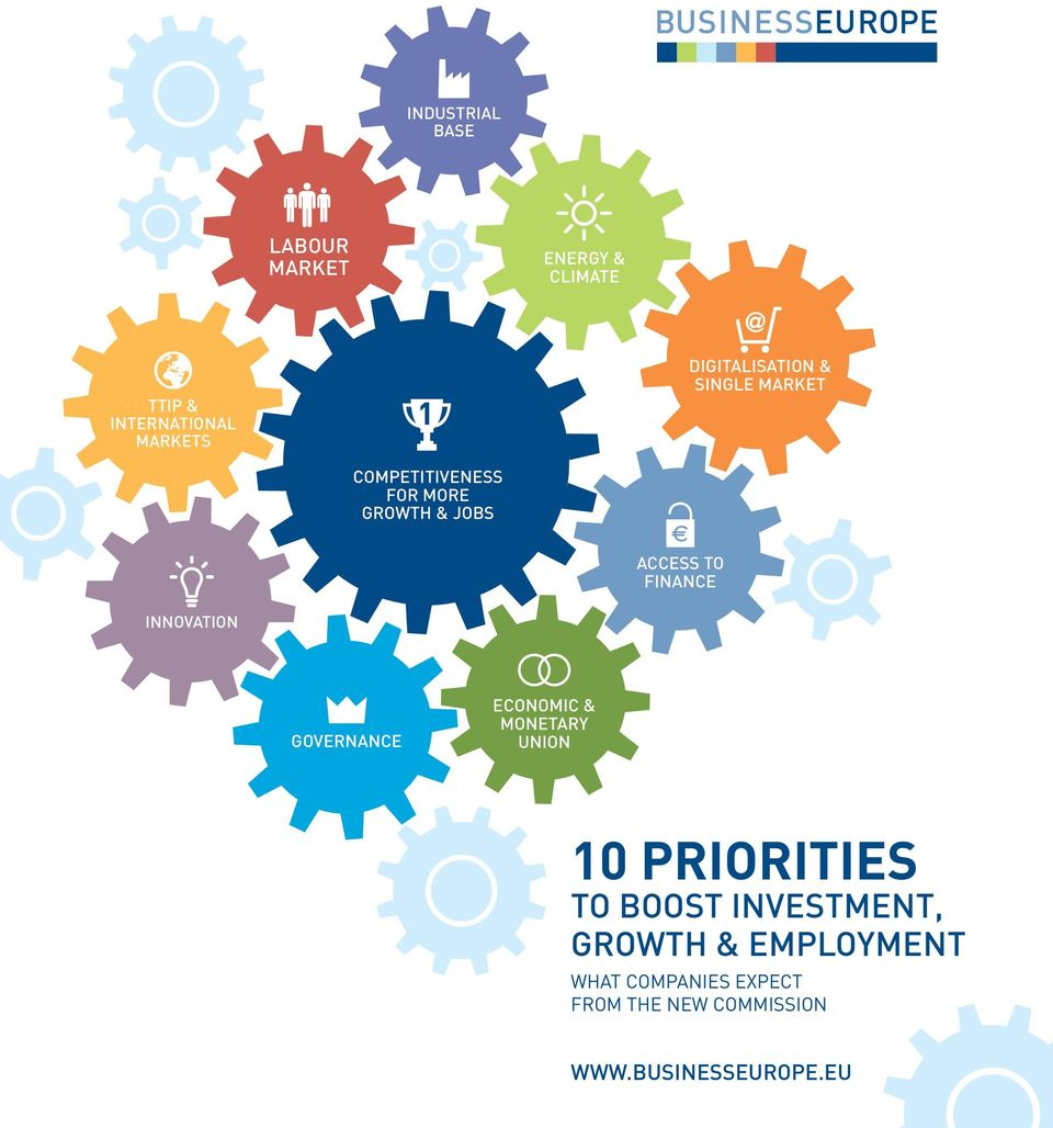 to finance innovation governance economic & monetary union 10 priorities to