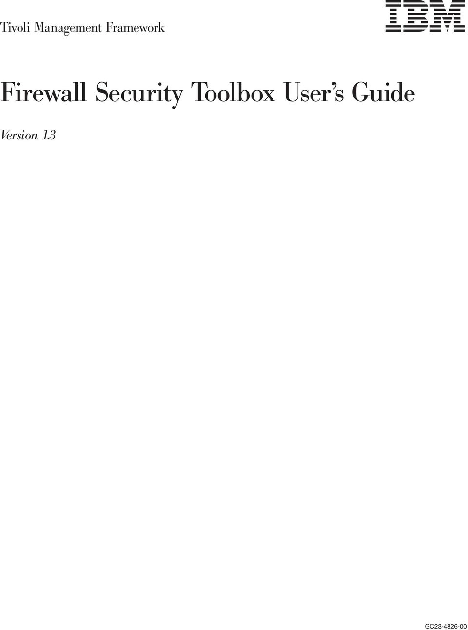 Security Toolbox User