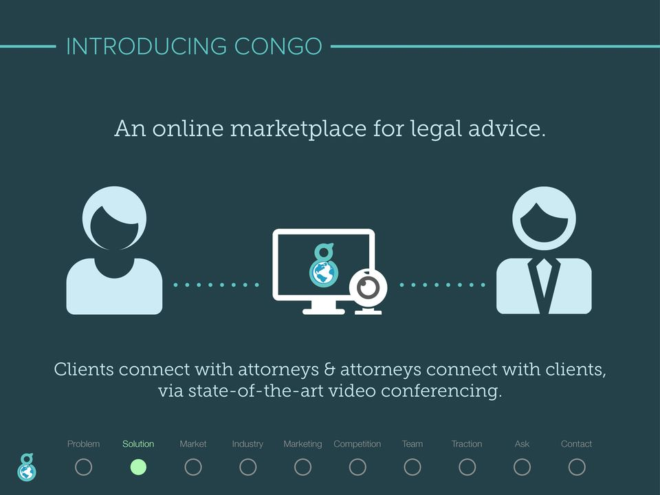 Clients connect with attorneys &