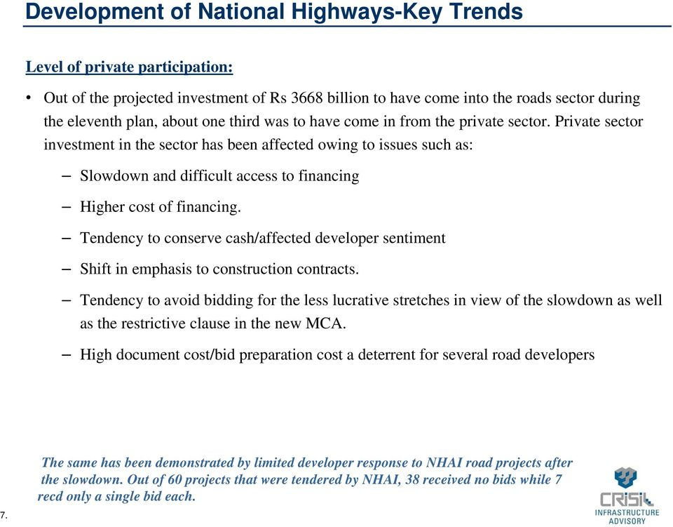 CRISIL Infrastructure Advisory  Key Trends and Outlook