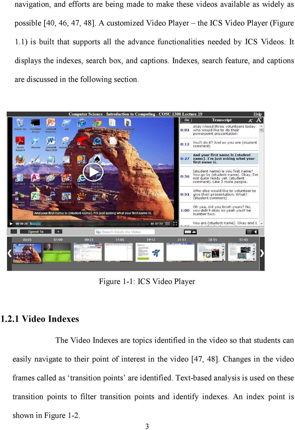 CAPTIONING FOR CLASSROOM LECTURE VIDEOS - PDF