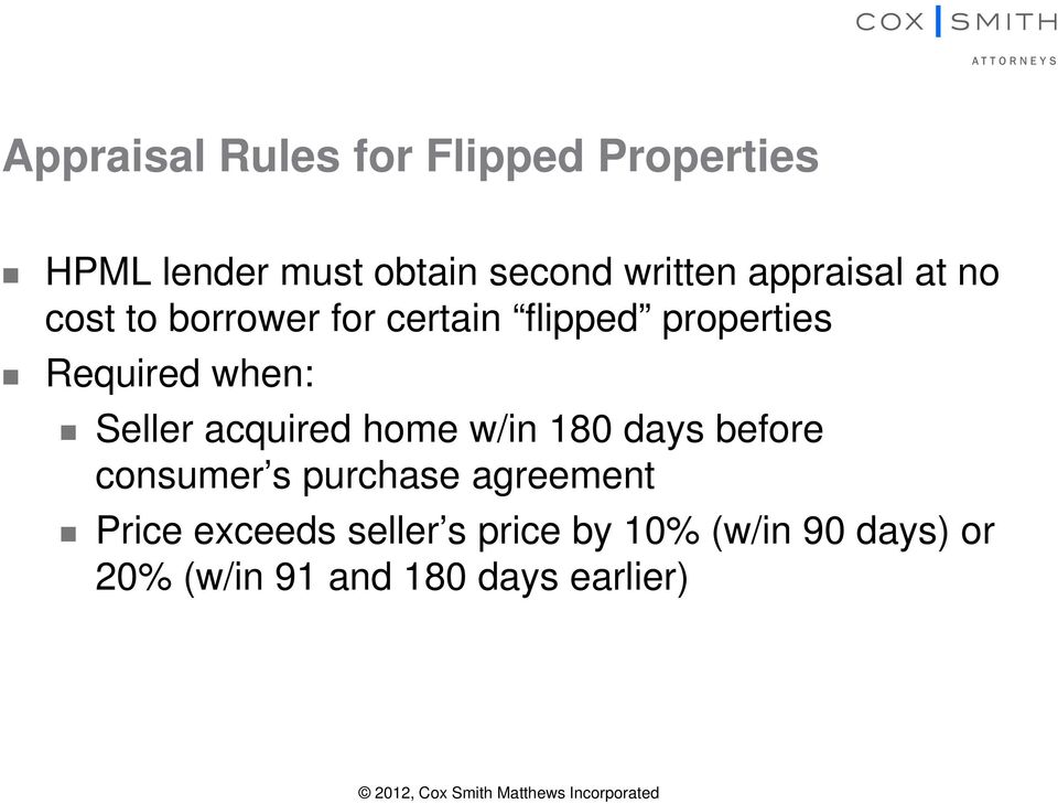 w/in 180 days before consumer s purchase agreement Price exceeds seller s price by 10%