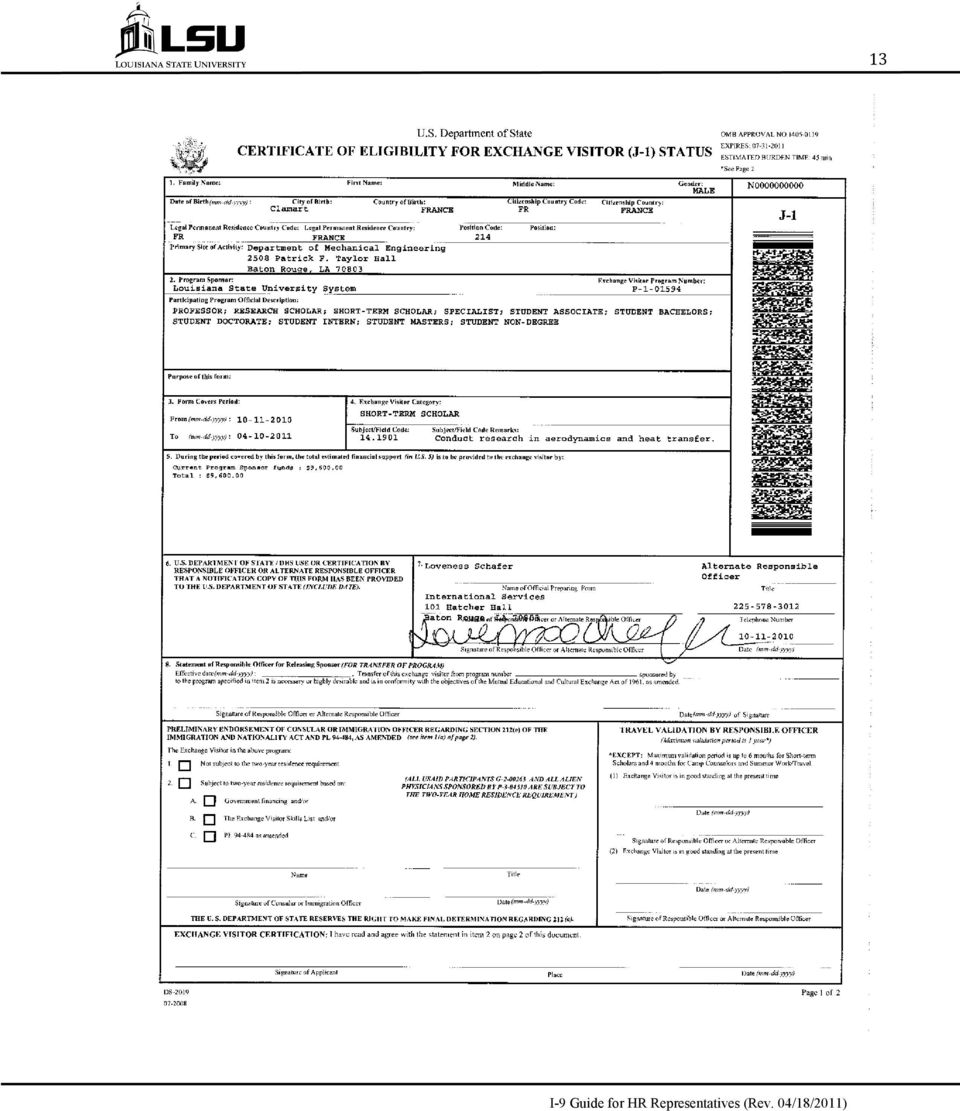 How To Complete Form I-9 for International Employees and