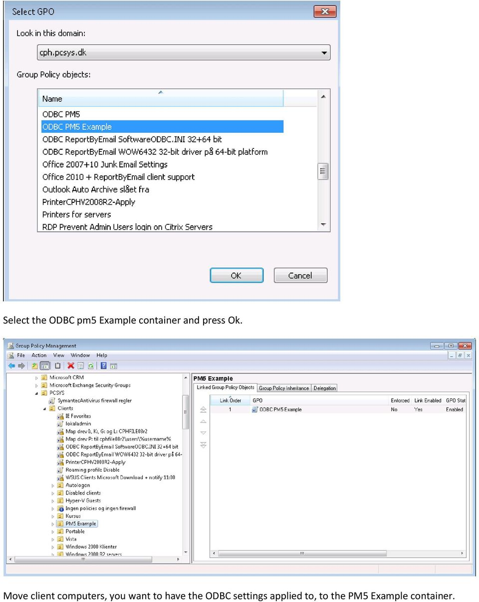 ODBC Group Policy Settings - PDF