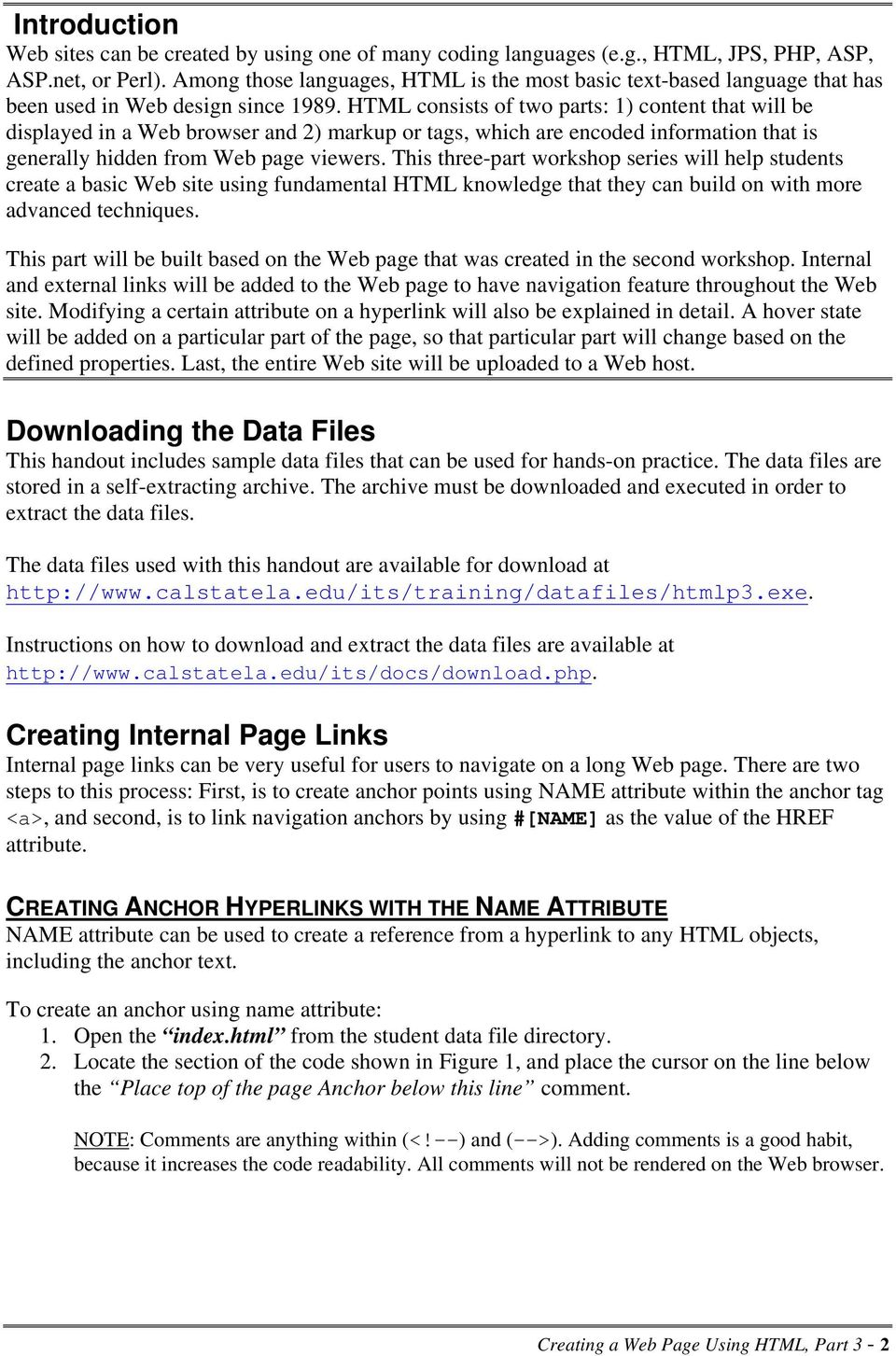 Html anchor download