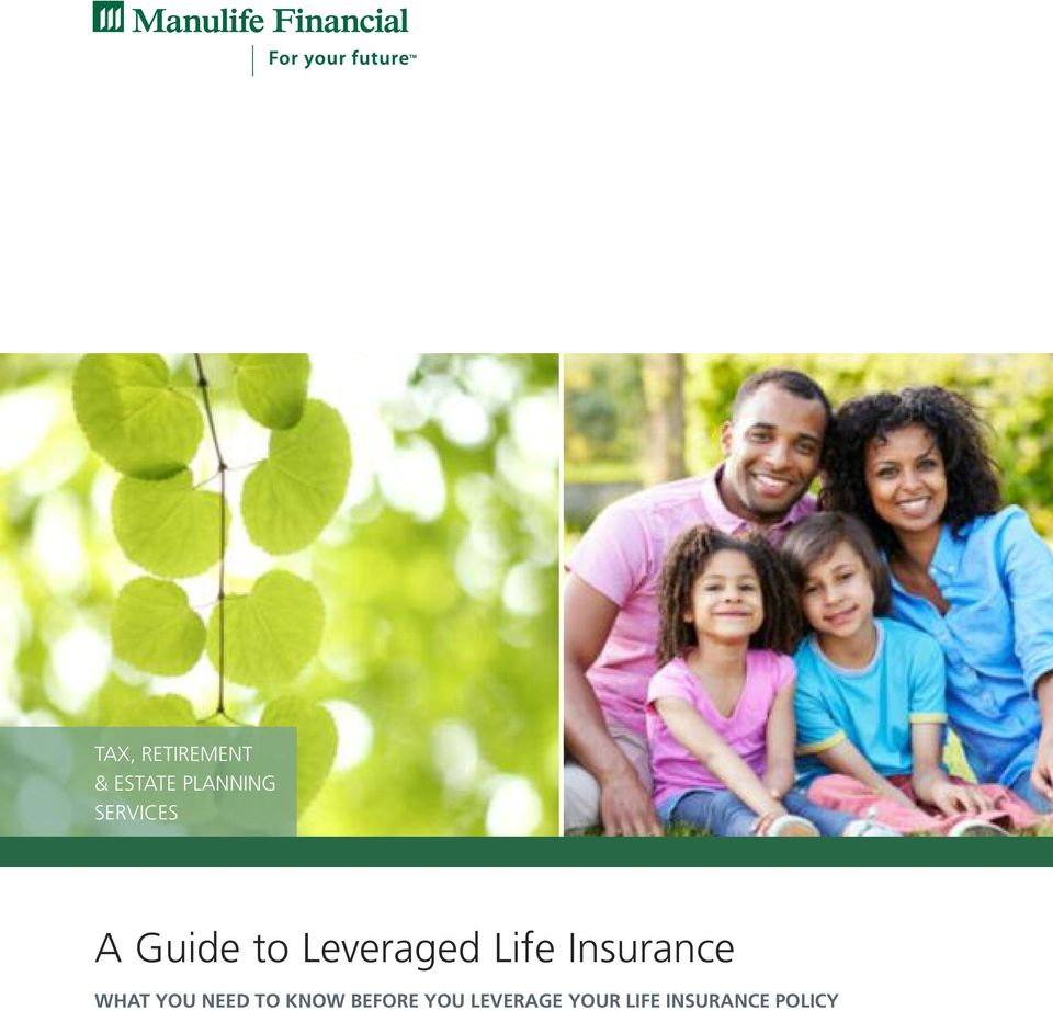 Insurance WHAT YOU NEED TO KNOW