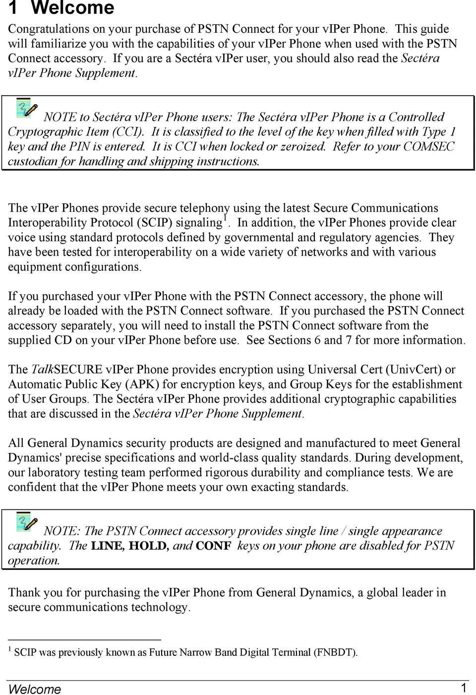 GENERAL DYNAMICS  Sectéra and TalkSECURE PSTN Connect viper Phone