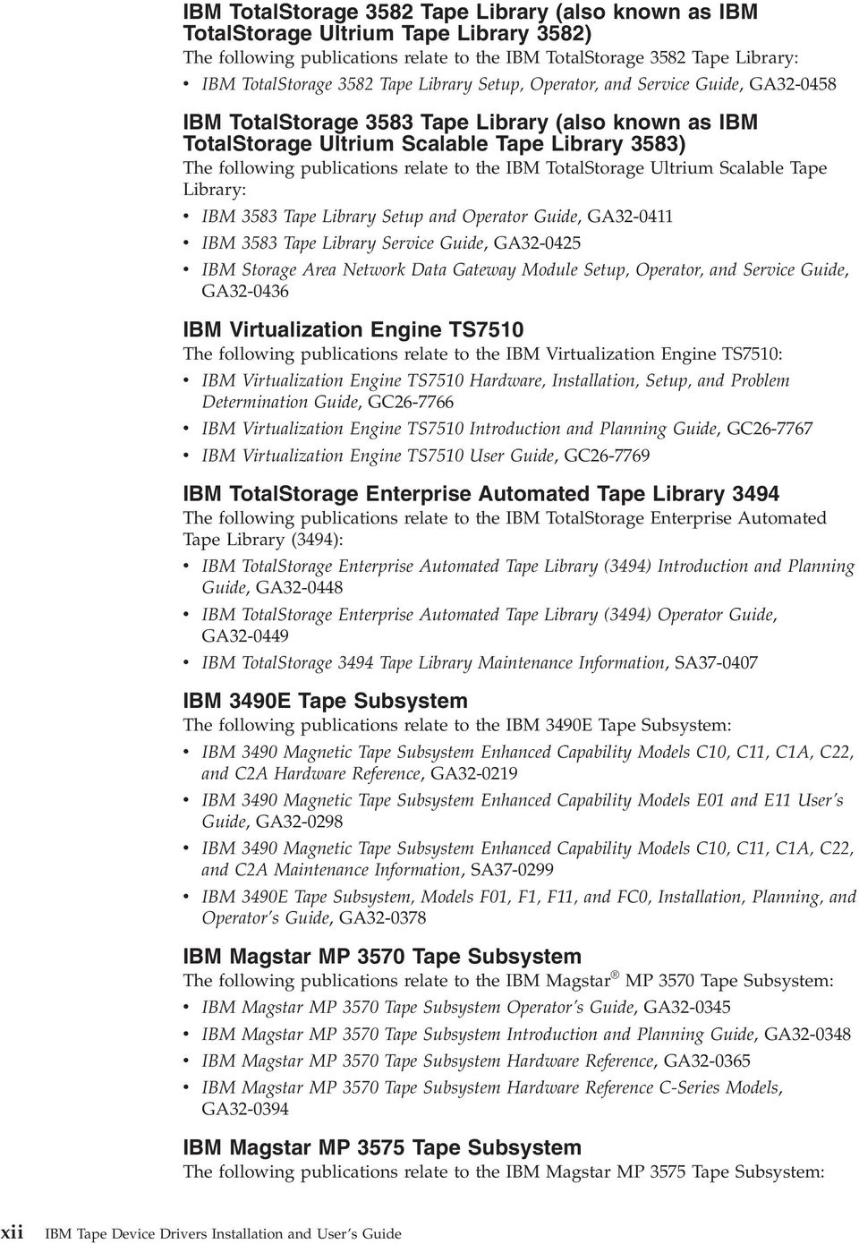 ibm tape device drivers users guide