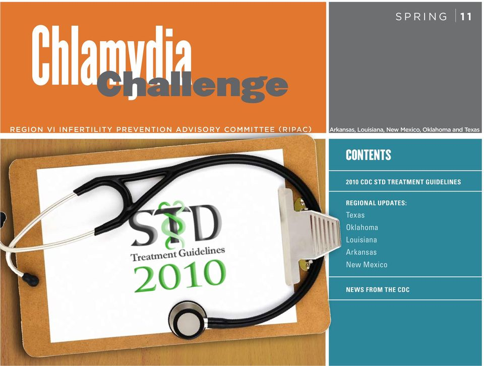 Chlamydia Challenge  CONTENTS 2010 CDC STD Treatment Guidelines