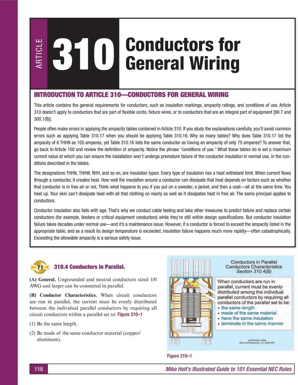 Introduction to chapter 3 wiring methods and materials pdf 7 and 3001b people often make errors in applying the ampacity greentooth Gallery