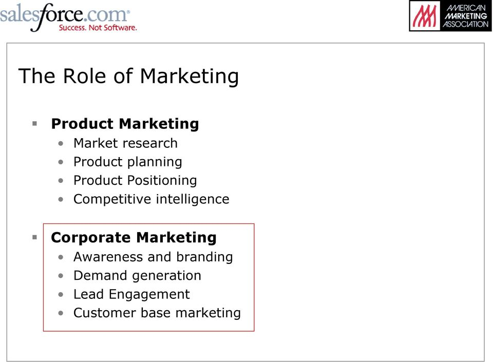 Product Positioning Competitive intelligence!