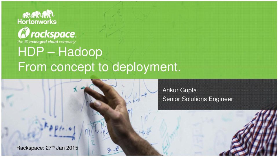 HDP Hadoop From concept to deployment  - PDF