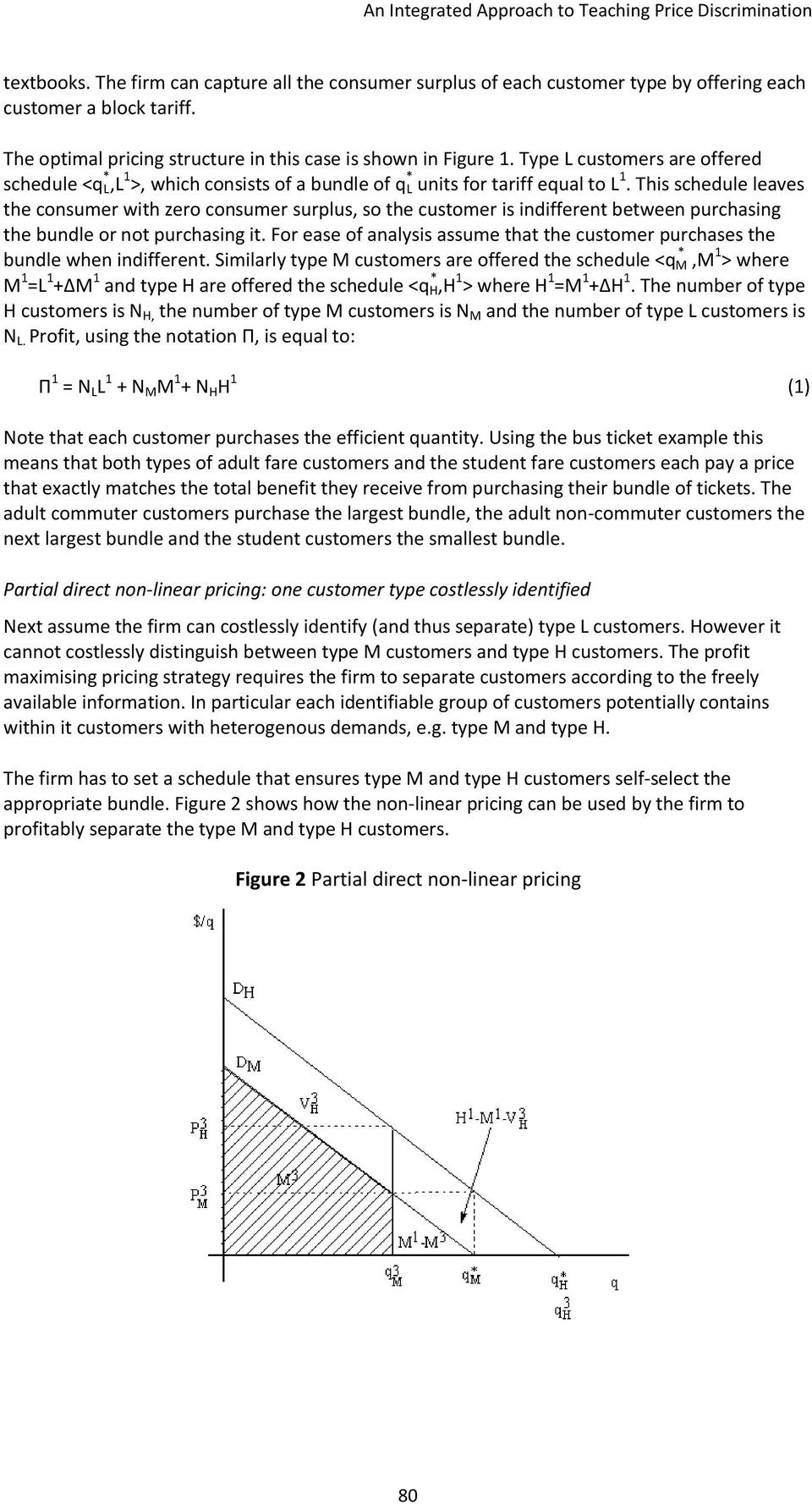 An Integrated Approach to Teaching Price Discrimination - PDF