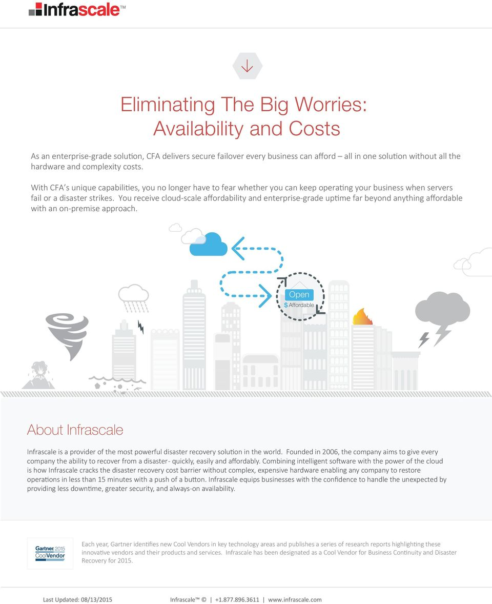 You receive cloud-scale affordability and enterprise-grade uptime far beyond anything affordable with an on-premise approach.