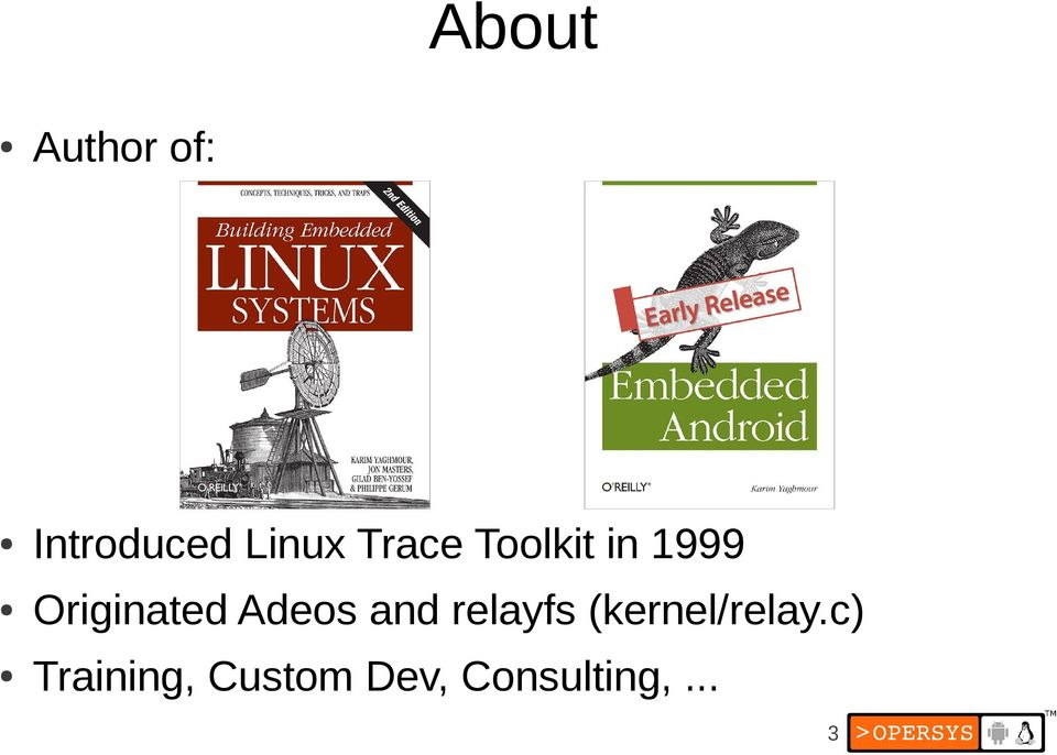 Inside Android's UI Embedded Linux Conference Europe 2012