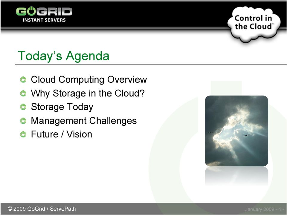 Storage Today Management Challenges