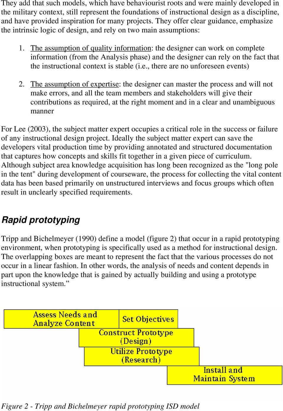 Rapid Prototyping An Efficient Way To Collaboratively Design And Develop E Learning Content Pdf Free Download