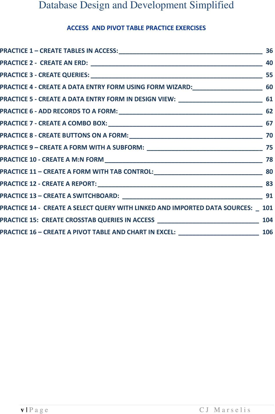 Database Design and Development Simplified - PDF