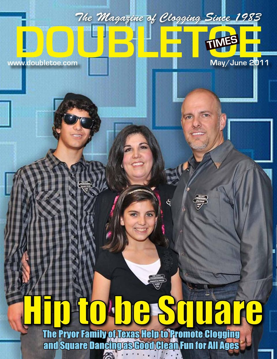 DOUBLETOE  Hip to be Square  The Magazine of Clogging Since