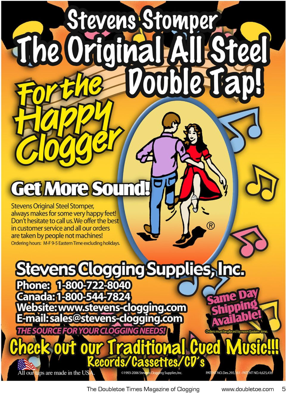 DOUBLETOE  Hip to be Square  The Magazine of Clogging Since 1983