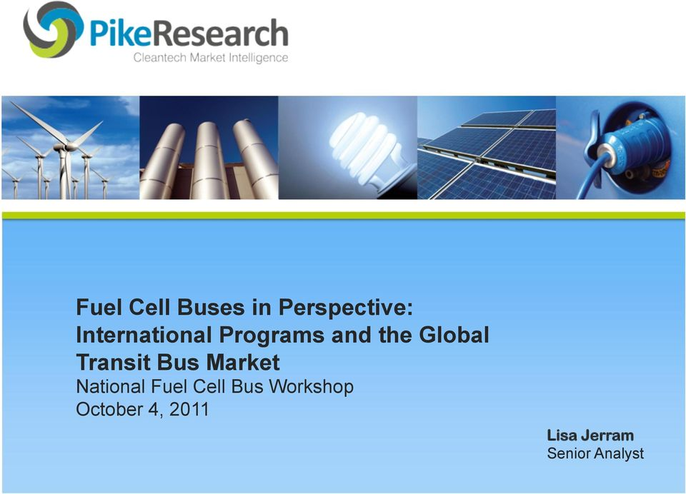 Transit Bus Market National Fuel Cell