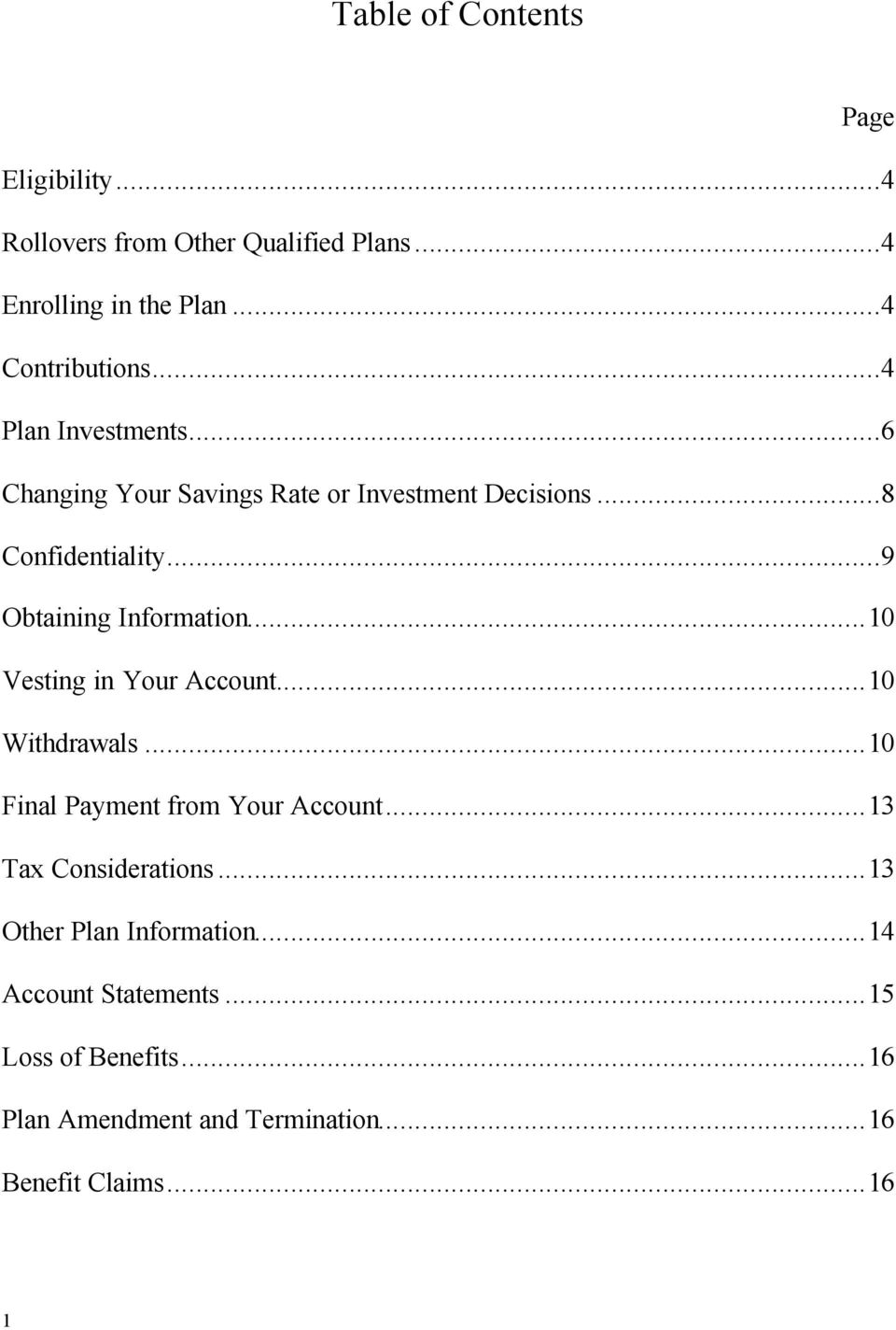 Union Pacific Agreement Employee 401(k) Retirement Thrift Plan - PDF