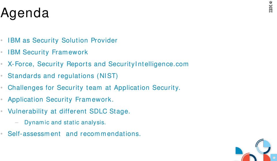 com Standards and regulations (NIST) Challenges for Security team at Application