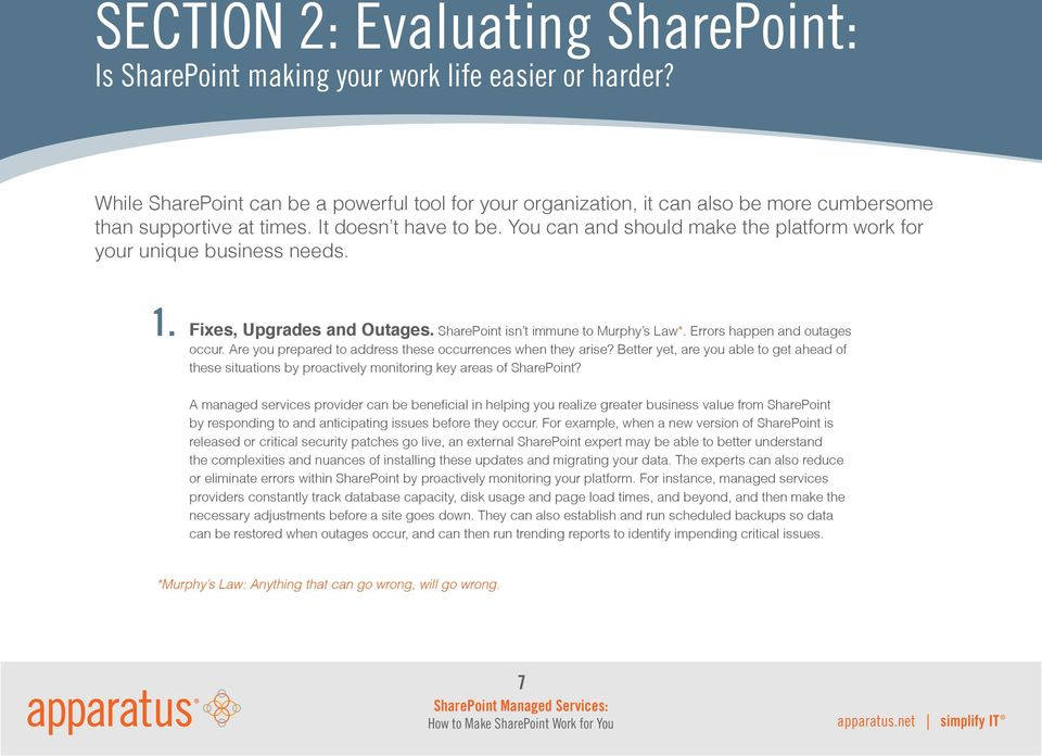 SharePoint Managed Services: How to Make SharePoint Work for