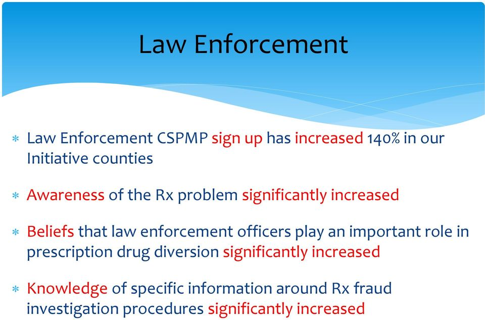 officers play an important role in prescription drug diversion significantly increased